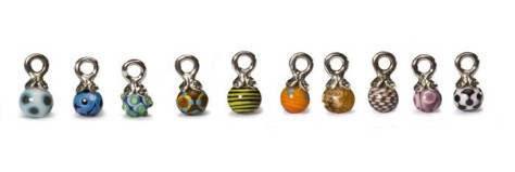 Unique Trollbead Charms 2008