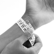 X wrist measurement guide