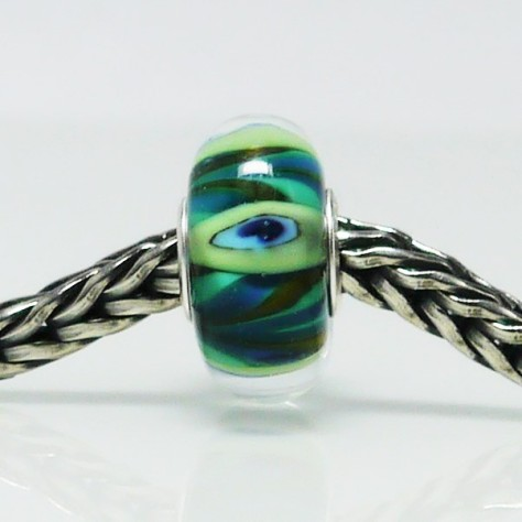 Trollbeads Small & Beautiful Peacock