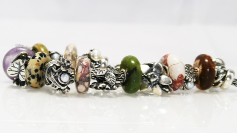 Trollbeads Ocean Jasper and Summer Stones