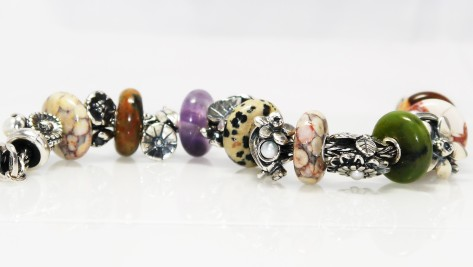 Trollbeads Ocean Jasper and Summer Stones