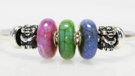 Trollbeads Limited Edition Pastel Agates