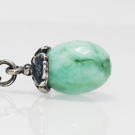 Trollbeads Fantasy Necklace with Emerald