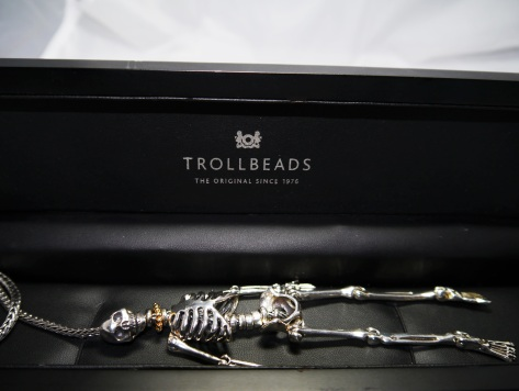 Trollbeads Skeleton Necklace