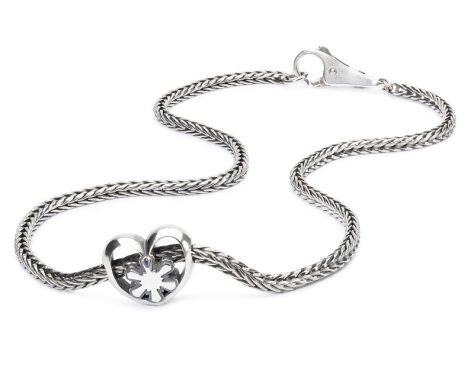 Trollbeads Crystal Heart Necklace