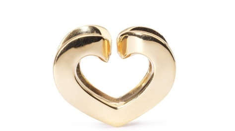 Trollbeads Eternal Love Gold
