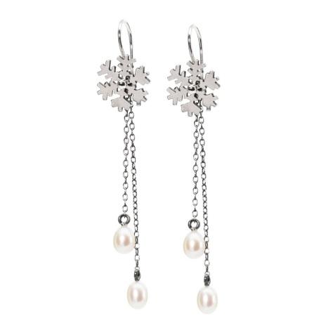 Trollbeads Ice Crystal Earrings