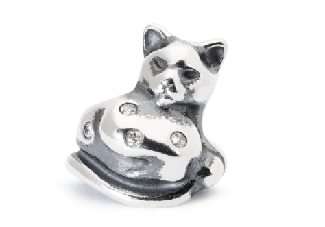 Trollbeads Moonlight Cat