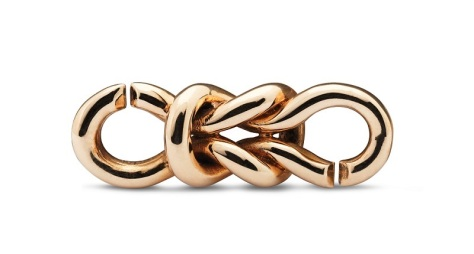 X by Trollbeads Bronze Lovers Bond
