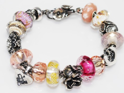 Trollbeads Inspiration - Pretty in Pink