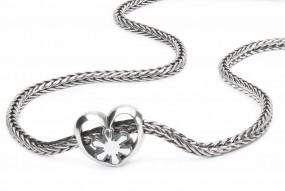 German Crystal Heart Necklace
