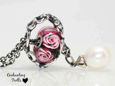 Trollbeads Mothers Rose